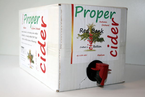 Great Value Real Cider Boxes